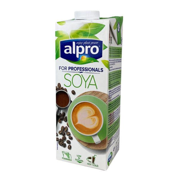 Соева напитка Alpro - 1 Л - Подходяща за вегетариански диети - Б.В.ЛИНК