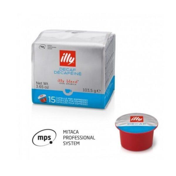 illy® капсули - MPS Classico, без кофеин - 15 бр. - Кафе Illy - BVL Link