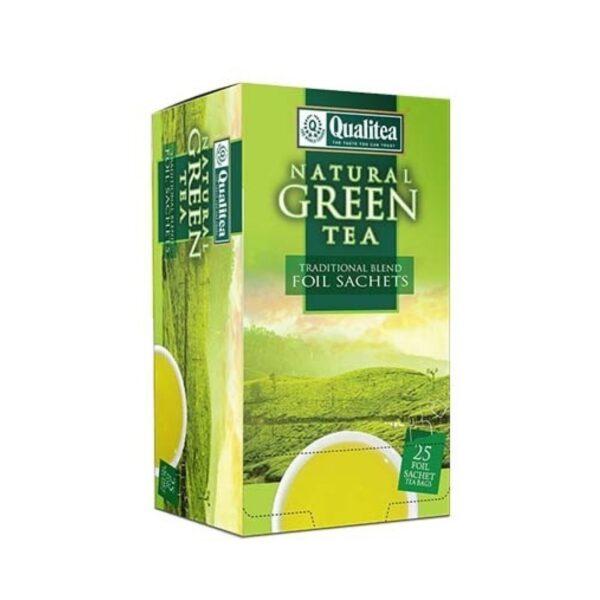 Зелен-чай-Qualitea-Natural-Green-25-сашета-Б.В.ЛИНК rsz