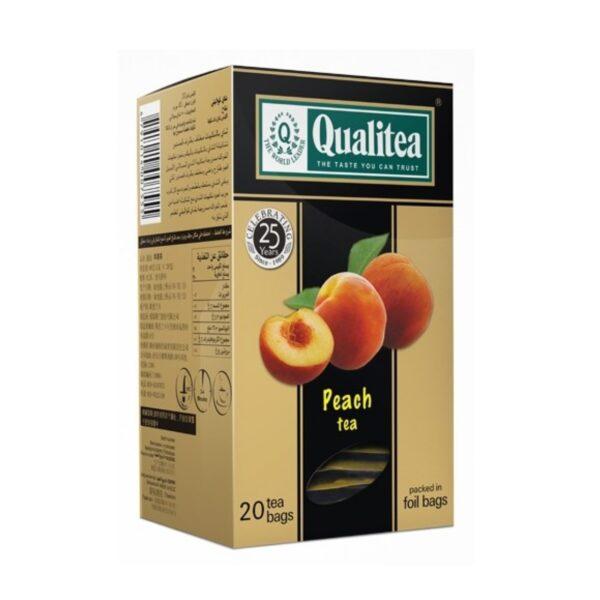Черен-чай-Qualitea-Peach-20-сашета-Б.В.ЛИНК rsz