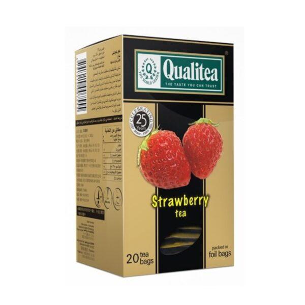 Черен-чай-Qualitea-Strawberry-20-сашета-Б.В.ЛИНК rsz