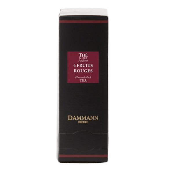 Dammann® Черен чай - 4 Червени плода - 24 сашета - Б.В.ЛИНК ООД