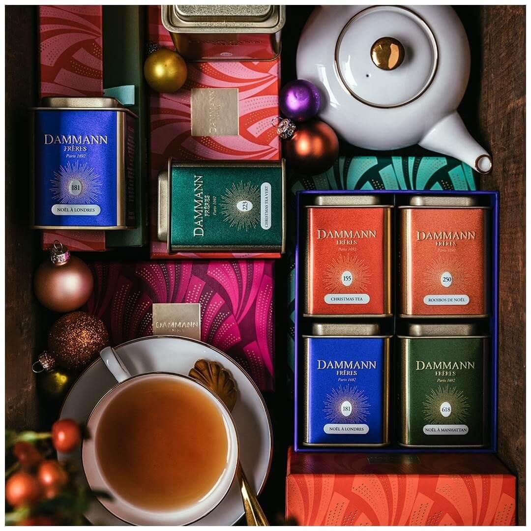 Dammann чай - банер 2