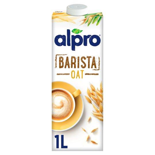 Мляко Alpro Barista Oat Овес - 1 Л - За здравословен хранителен режим - Б.В.ЛИНК